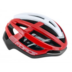 Casco Force Lynx rojo,blanco